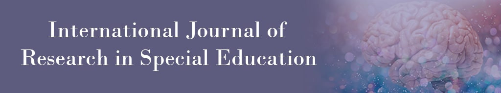 International Journal of Research in Special Education